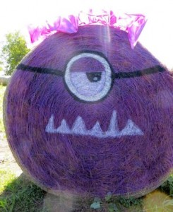 Purple Monster Hay!